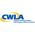 The logo of the Child Welfare League of America.