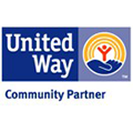 The logo of United Way.